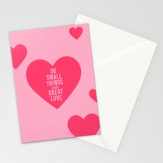 GREAT LOVE Stationery Cards
