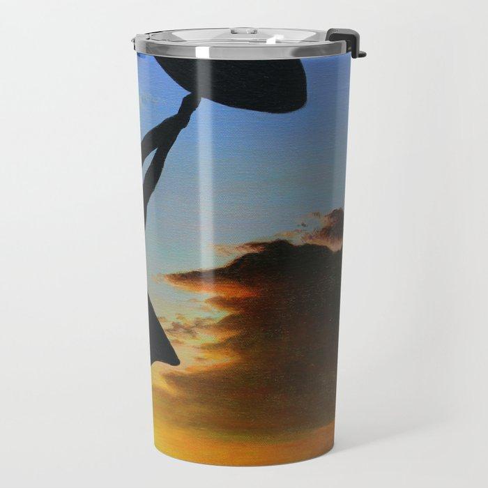 Sunset Sail Travel Mug