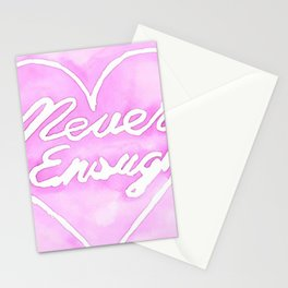 Never enough Stationery Cards
