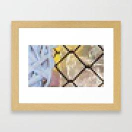 Pixel Indulge Framed Art Print