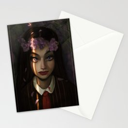 Don't Wake Up the Vampire Stationery Cards