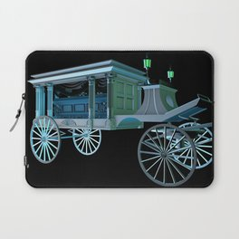 Haunted Mansion Hearse Laptop Sleeve