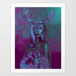 Fawn (Alternative Version) Art Print