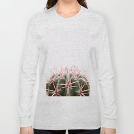 cactus red Long Sleeve T-shirt