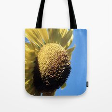 Bulging Sunflower Tote Bag