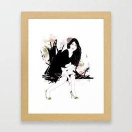 Shews Framed Art Print