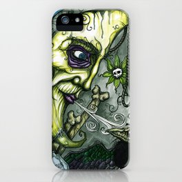 Lunacy by Morose iPhone Case