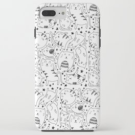 Pattern Cats iPhone Case