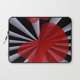 red white black -19- Laptop Sleeve