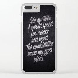 Raekwon Clear iPhone Case