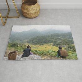 Sa Pa Landscapes I - Vietnam Rug