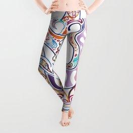 In My Hair- Colourized Leggings
