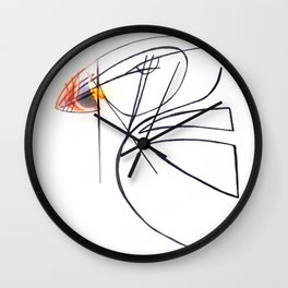 Puffin Love Wall Clock