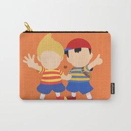 Ness&Lucas(Smash)Orange Carry-All Pouch