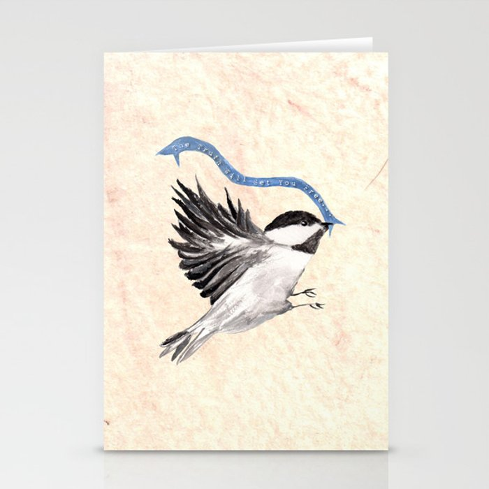 The Truth Will Set You Free... Stationery Cards