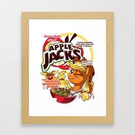 apple jacks Framed Art Print