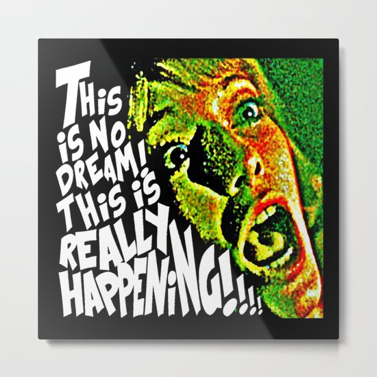 This Is No Dream | Rosemary's Baby Metal Print