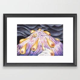 Night Life Forms Framed Art Print