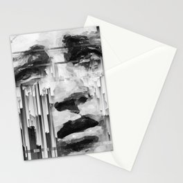Falling Down by IRRELEVANT VISION™ Stationery Cards