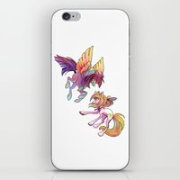 exo iPhone & iPod Skins featuring Slipstream & Exo by Huenchunb