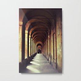 Portico di San Luca Metal Print