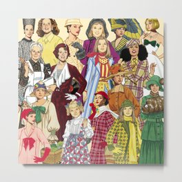 Womans Collection Metal Print