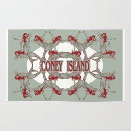 Coney Island Mermaid Rug