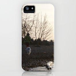 Kits Beach Sunset 1 iPhone Case