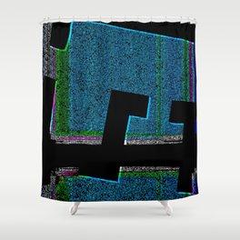 FICTION Shower Curtain