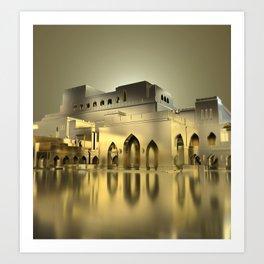 Sultanate Of Oman - Royal Opera House Art Print