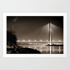Waterford Bridge Art Print