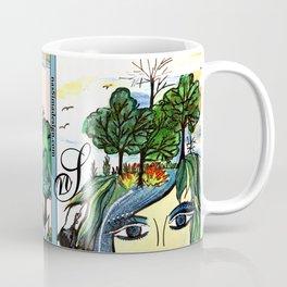 Astrology Aquarius Coffee Mug