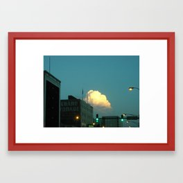 (Extra) Cloud Storage ~ chicago architecture Framed Art Print