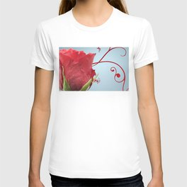 Rose, Reinvented T-shirt