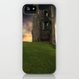 Sunset at Hadleigh Castle iPhone Case
