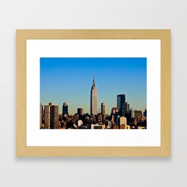 """Empire State"" Framed Art Print"