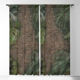 Inca road Blackout Curtain