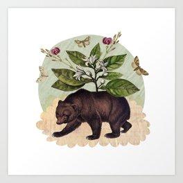 To Where Said the Bear Art Print
