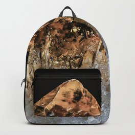 Fire and Ice Citrine crystals Backpack
