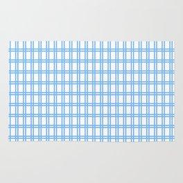 Quadri blue Rug