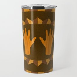 The ASL Marquetry - (ASL Marquetry Series) Travel Mug