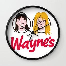 Wayne's Double Wall Clock