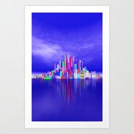 city feeling -101- Art Print