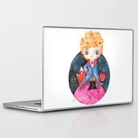le petit prince Laptop & iPad Skins featuring Le petit prince by Laura Barocio