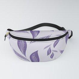 Ultraviolet Foliage #society6 #pattern #ultraviolet Fanny Pack