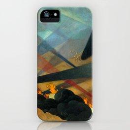 Verdun by Félix Vallotton - Colorful Les Nabis Art iPhone Case