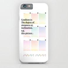 Gradient (English) iPhone 6s Slim Case