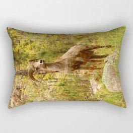 His Teritory Rectangular Pillow