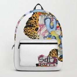 BALI SNAKE BRAIDS // JAKARTA FLOWERS Backpack