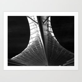 Paris - CDG Airport II Art Print